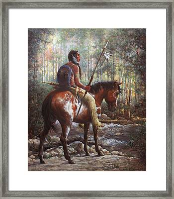 The Brave Framed Print by Harvie Brown