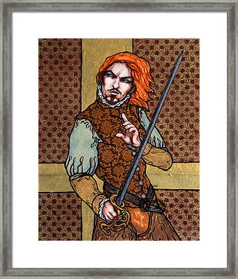 The Brave One Framed Print by A Ka