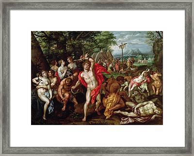The Brazen Serpent Framed Print