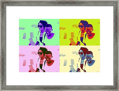 The Brazilians Four Framed Print
