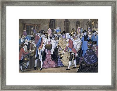 The Bread And Butter Manufactory Framed Print by English School
