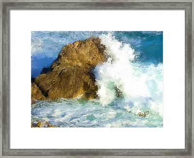 The Breaker Framed Print by Jim Pavelle