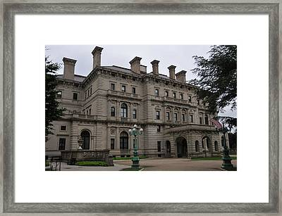 The Breakers  --  Newport Rhode Island  Framed Print