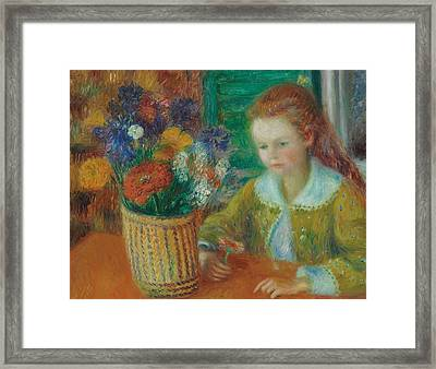 The Breakfast Porch Framed Print by William James Glackens