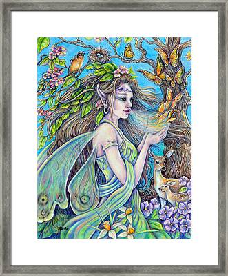 The Breath Of Spring Framed Print