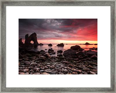 The Breeches Arch Framed Print by Craig Brown