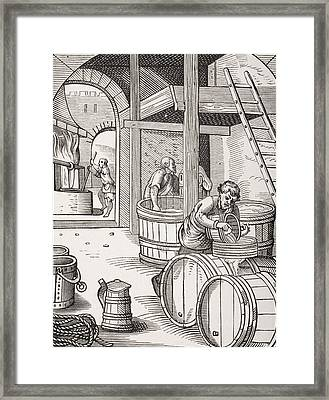 The Brewer Framed Print by French School