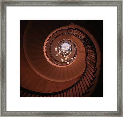 The Brewer Staircase Framed Print