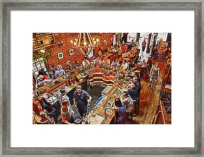 The Brick Store Pub Framed Print