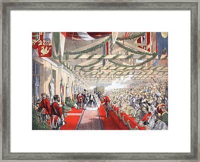 The Bricklayers Arms Station, 7th March Framed Print by English School