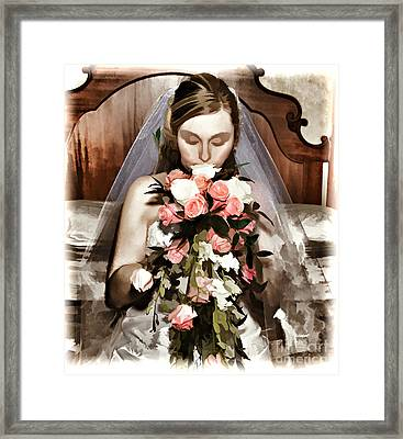 The Bride  Framed Print by G Sugal