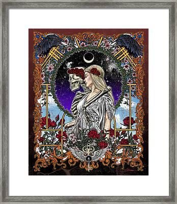 The Bride Framed Print by Gary Kroman