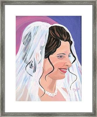 The Bride Framed Print by Phyllis Kaltenbach
