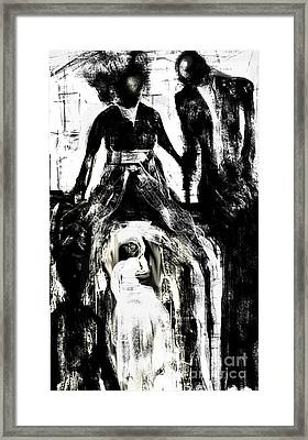 The Bride Framed Print by Rc Rcd