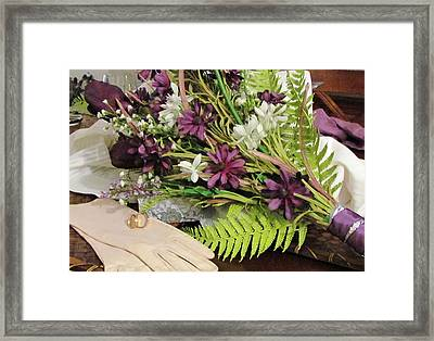 Framed Print featuring the photograph The Bride To Be by Cynthia Guinn