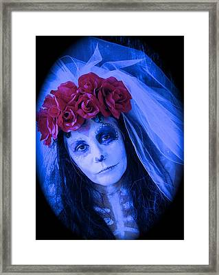 The Bride Waits Framed Print
