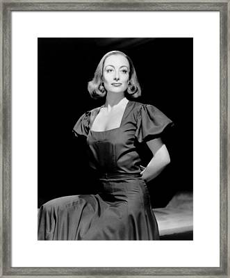 The Bride Wore Red, Joan Crawford Framed Print