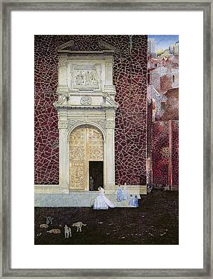 The Bridegroom Never Came, 2001 Oil On Canvas Framed Print by James Reeve