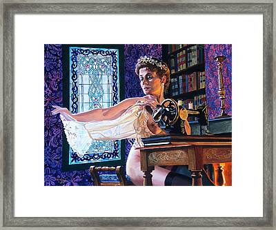 The Bridesmaid Framed Print by Jo King