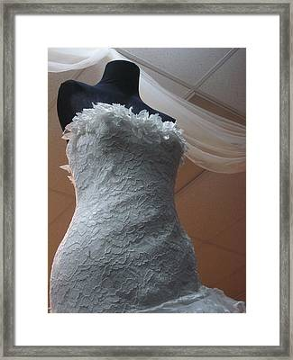The Bridesmaid Lost Her Head Framed Print by Guy Ricketts