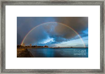 The Bridge Across Forever Framed Print