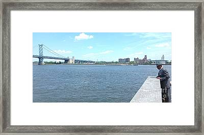 The Bridge And The River Framed Print
