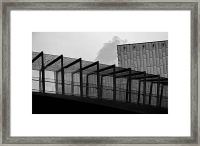 The Bridge Framed Print by Andrew Menzies