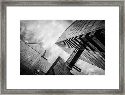 The Bridge Framed Print by Brad Walsh