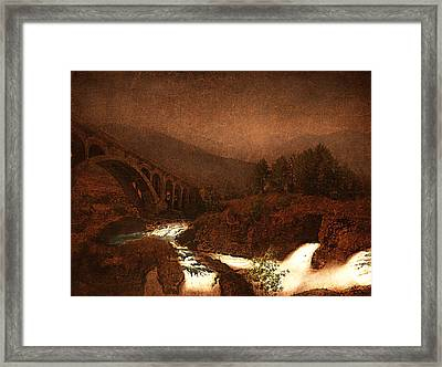 The Bridge Framed Print by Jeff Burgess