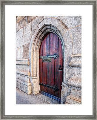 The Bridge Master's Door Tower Bridge Framed Print