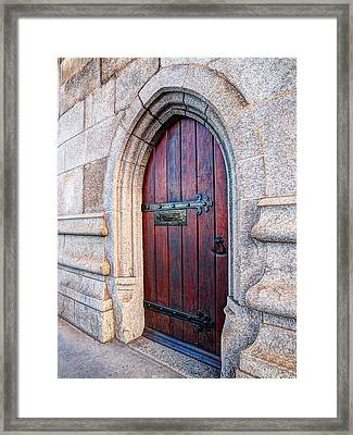 The Bridge Master's Door Tower Bridge Framed Print by Gill Billington