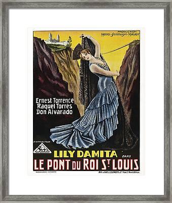 The Bridge Of San Luis Rey, Aka Le Pont Framed Print by Everett