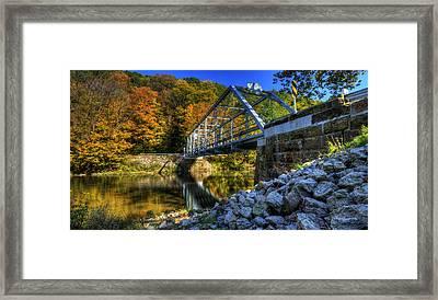The Bridge Over Beaver Creek Framed Print