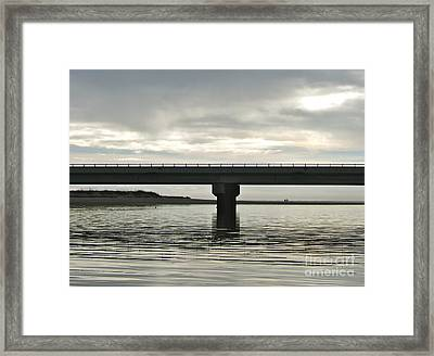 Framed Print featuring the photograph The Bridge by Paul Foutz