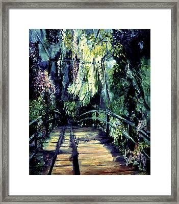 The Bridge Framed Print by Shari Silvey
