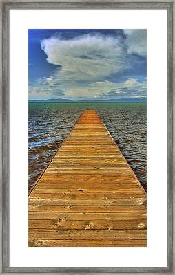 The Bridge To Nowhere And Everywhere Framed Print