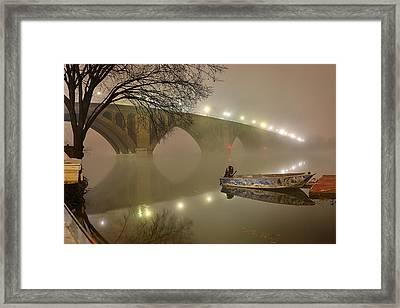 The Bridge To Nowhere Framed Print