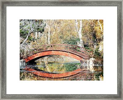 The Bridge Framed Print by Tom Riggs