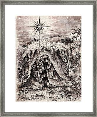 The Bright And Morning Star Framed Print