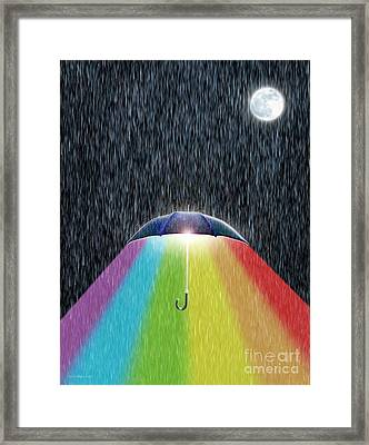 The Bright Side Framed Print