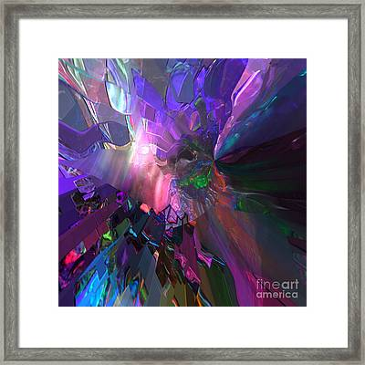 The Brighter Side Framed Print