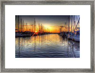 The Brightest Star In The Sky Framed Print by Heidi Smith