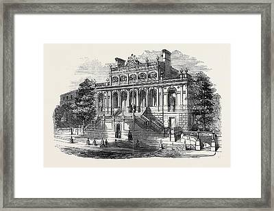 The Bristol Academy For The Promotion Of The Fine Arts Framed Print