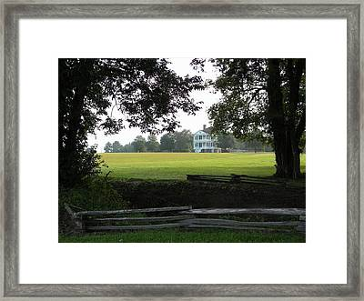 The British Are Coming Framed Print
