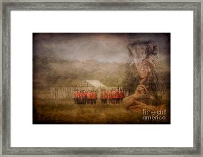 The British Are Here Framed Print by Randy Steele