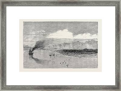 The British Expedition To Abyssinia Landing-place Framed Print