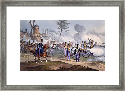 The British Royal Horse Artillery - Framed Print by English School