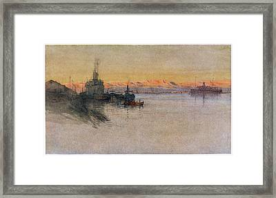 The British Transport Ships  'erma' Framed Print by Mary Evans Picture Library