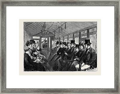 The Brixton And Kennington Tramway Framed Print