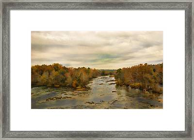 The Broad River Framed Print by Steven Richardson